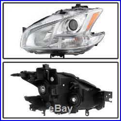For 2009-2014 Maxima Halogen Model Headlights Headlamps Replacement Left+Right