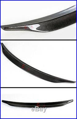 For 2013-2016 Audi A4 High Kick Duckbill Real Carbon Fiber Trunk Spoiler Wing