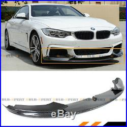 For 2014-19 BMW F32 F33 F36 M Sport Carbon Fiber MP Bumper Lip Spoiler Splitter