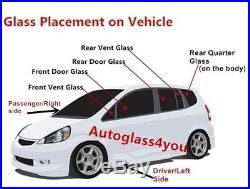 For 97-11 Dodge Dakota Pickup All Model Rear Sliding Window Back Glass Slider