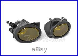 For 99-05 BMW E46 3-Series 4Dr M3 style Front Bumper & Yellow fog lights Sedan