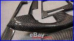 For BMW E46 330ci M3 Convertible Model Only Carbon Interior Trim Dash 8pcs Kit