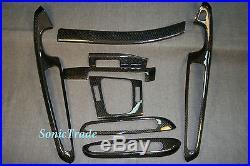 For BMW E46 M3 2001-2006 Coupe LHD Model Carbon Interior Trim Dash Kit 8pcs set