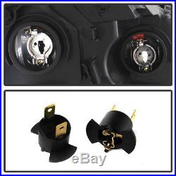 For Blk 05-06 Honda CRV CR-V Japan Built Model Headlights Headlamps Left+Right
