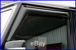 For Mercedes G-Class W463 Long Model Deflector Window Visor Sun Guard Smoked