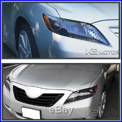 For US Model Toyota 2007-2009 Camry Black Projector Headlights Left+Right