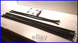 Ford Model A Tudor Coupe Pickup Door Glass Window Channel Run Kit 1928-1931