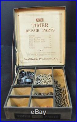 Ford Model T Apco Timer Repair Parts Display Box 1920's Era