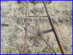 Ford Model T Frame and Axles For Parts or Yard Art only