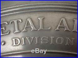 Ford Tri-Motor Airplane Medallion Emblem Sign William Bushnell Stout Metal Co