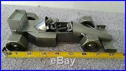 Formula 1 racing car sculpture scrap metal F1 Car parts steel model handmade