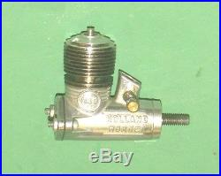 Four Holland Hornet Glow Model Airplane Engines and Parts (#H-158)