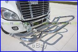 Freightliner Cascadia 08-16 Semi Truck Deer Moose Tuff Guard Bracket Set Model 7