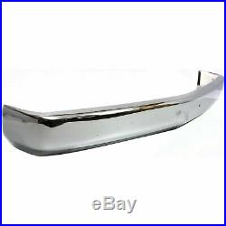 Front Bumper Chrome 88-02 Chevrolet K1500 witho Air Intake/Strip/Guard Holes