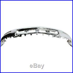 Front Bumper Chrome with Foglamps witho PAS For 2014-2015 Chevrolet Silverado 1500