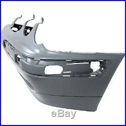 Front Bumper Cover For 2000-2003 M Benz E320 with fog lamp holes 00-02 E430 Primed