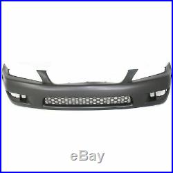 Front Bumper Cover For 2001-2005 Lexus IS300 with fog lamp holes Primed