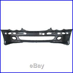 Front Bumper Cover For 2005-2007 M Benz C230 with fog lamp holes 06-07 C280 Primed