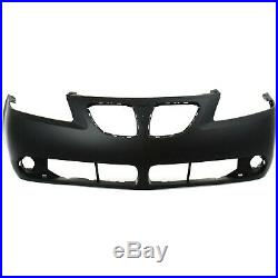 Front Bumper Cover For 2005-2009 Pontiac G6 with Fog Lamp Holes Primed 19151158