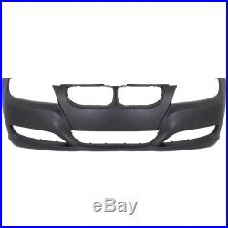 Front Bumper Cover For 2009-12 BMW 3-Series Sedan Wagon Primed 51117226709