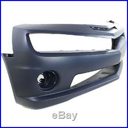 Front Bumper Cover For 2010-2013 Chevy Camaro with fog lamp holes Primed