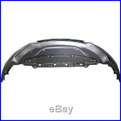 Front Bumper Cover For 2011-2012 Honda Accord Sedan with fog lamp holes Primed