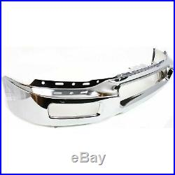 Front Bumper Face Bar Chrome with FL For 2004-2005 Ford F-150 Up To 8-8-05