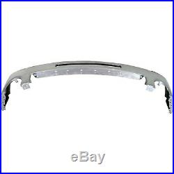 Front Bumper For 2007-2013 GMC Sierra 1500 Chrome Steel with air intake hole