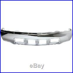 Front Bumper For 2014-2015 Chevrolet Silverado 1500 LT Chrome Steel