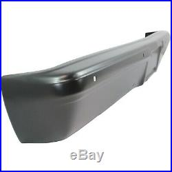 Front Bumper For 83-86 Chevrolet C10 Painted Black Steel