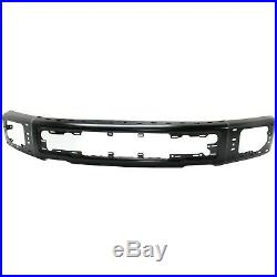 Front Bumper Primed with Fog Light and Side Cover Holes For 2015-2017 Ford F-150