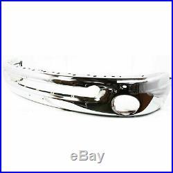 Front Bumper for 2002-2009 Dodge Ram 1500 2003-2009 Ram 2500 Chrome Steel