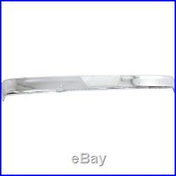 Front Bumper for 75-77 Ford F-150 F-250 Chrome Steel