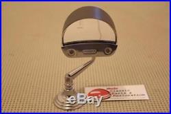 Fulton Style Outer Exterior Visor Sunshield & Chrome Traffic Light Viewer Set