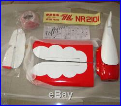 Gee Bee 1036mm Fiberglass Wood RC Model Airplane Sporter ARF without e-Part