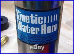 General Kinetic Water Ram Model G with Attachments/Parts