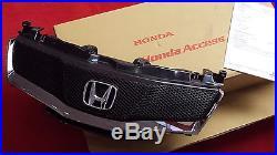 Genuine Honda Civic Front Mesh & Chrome Grille / Grill 2007-2011 3/5 Door Models