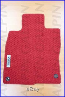 Genuine OEM Honda Civic 4dr 5dr Red Carpet Floor Mat Set 2016 2018