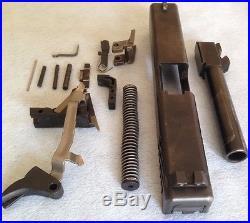 Glock model 22.40 S&W Complete Slide Upper & Lower Parts Kit gen 3 Poly 80