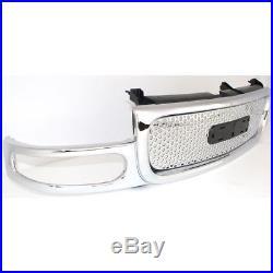 Grille 2001-2006 GMC Yukon/ Yukon XL Chrome Denali Models Only