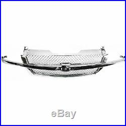 Grille All Chrome for Chevy Silverado Pickup 1500 2500 3500 Avalanche