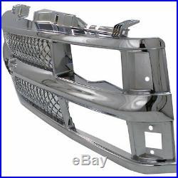 Grille For 94-99 Chevrolet K1500 C1500 Chrome