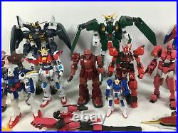 Gundam Bandai Model Kit Figure Accessories and Parts Lot Multiple Scales