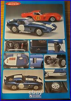 Gunze Sangyo Cobra Daytona Coupe 124Scale High-Tech Model withphoto etched parts