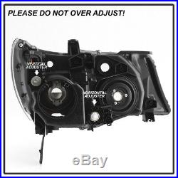 HID Model 2007-2009 Acura MDX Headlights without Adaptive Headlamps Left+Right