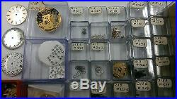 HUNDREDS of NEW Bulova ACCUTRON PARTS For Model 218