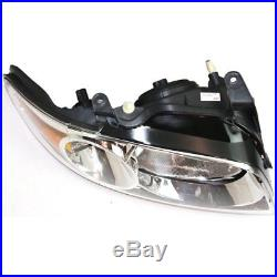 Halogen Headlight Set For 2004-2006 Nissan Sentra Base/S Models with Bulbs Pair