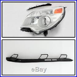 Halogen Model 2010-2015 Chevy Equinox Projector Headlights Headlamps Left+Right