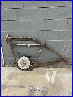 Harley Davidson J Model JD Vintage Motorcycle Frame F FD JDH Part Parts Rare 21F
