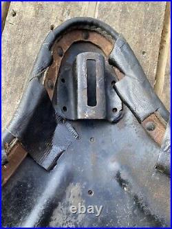 Harley Davidson WLA W Model WL Knucklehead Panhead Vintage Part Parts Seat Base